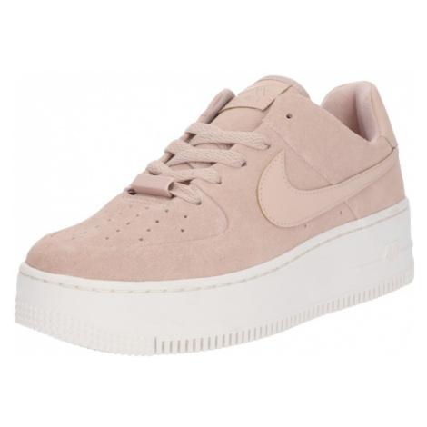 Nike Sportswear Trampki niskie 'Air Force 1 Sage' różowy pudrowy