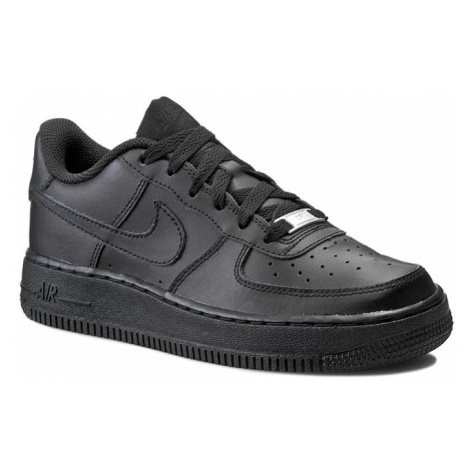 Buty NIKE - Air Force 1 (GS) 314192 009 Black/Black