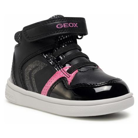 Sneakersy GEOX - B Djrock G.A B841WA 00254 C0922 M Black/Fuchsia