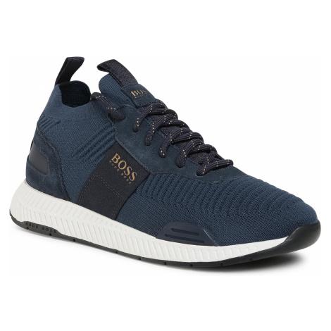 Sneakersy BOSS - Titanium 50414734 10220052 01 Dark Blue 407 Hugo Boss