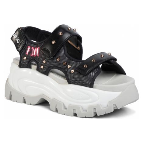 Sandały LIU JO - Wave 04 BA0037 TX117 Black 22222