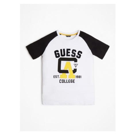 T-Shirt W Bloki Kolorystyczne Guess