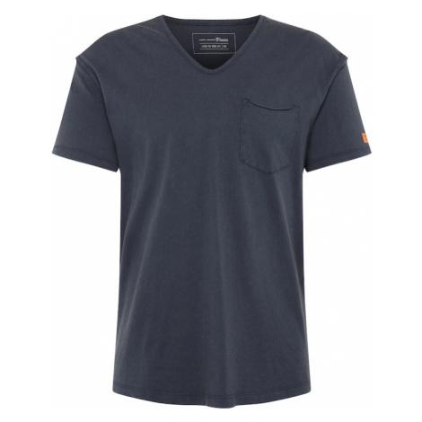 TOM TAILOR DENIM Koszulka ciemny niebieski