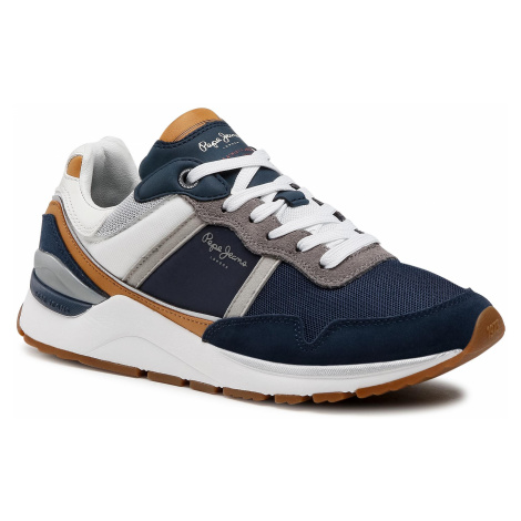 Sneakersy PEPE JEANS - X20 Basic PMS30734 Navy 595