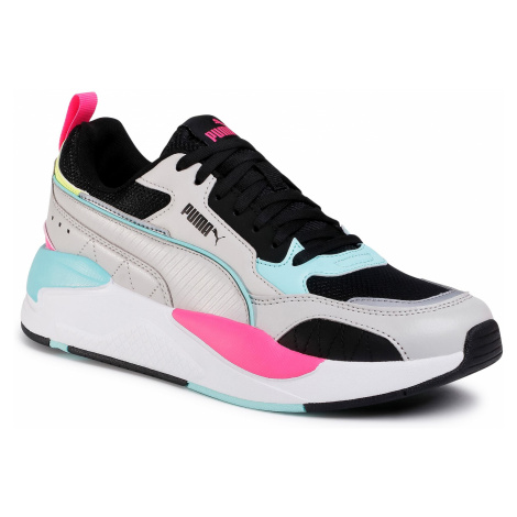 Sneakersy PUMA - X-Ray 2 Square 373108 04 Gray Violet/Black/Aruba Blue
