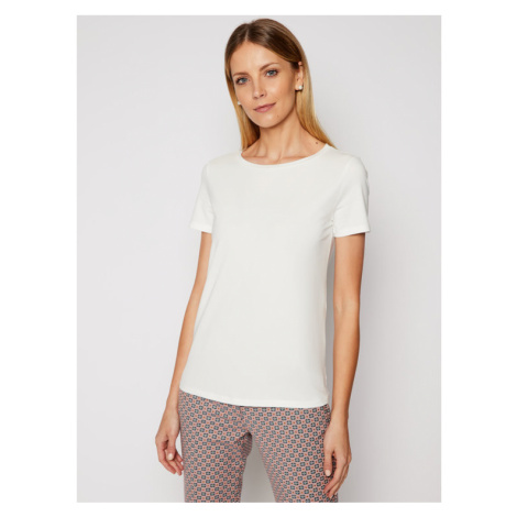 Weekend Max Mara T-Shirt Multib 59710217 Biały Regular Fit