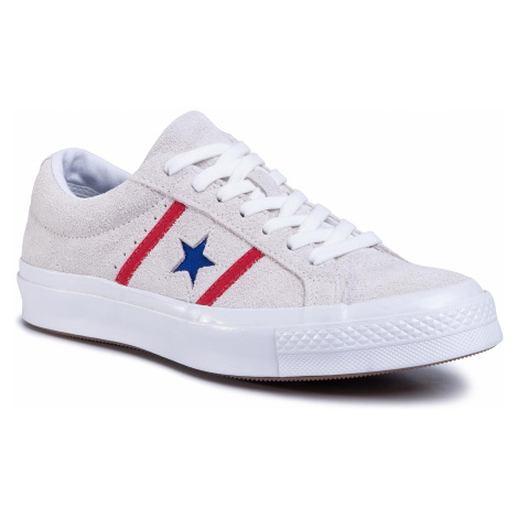 Tenisówki CONVERSE - One Star Academy Ox 164390C White/Enamel Red/Blue