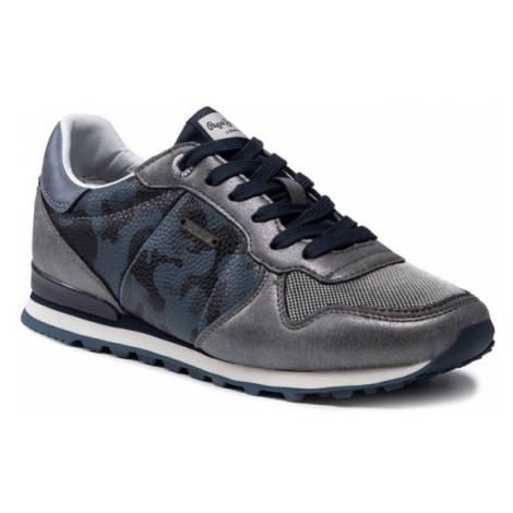 Pepe Jeans Sneakersy Verona W Fight PLS30896 Szary