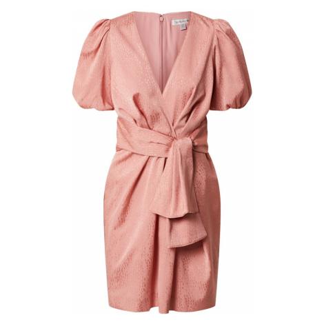Forever New Sukienka 'Ellie Jacquard Mini Dress' różowy pudrowy