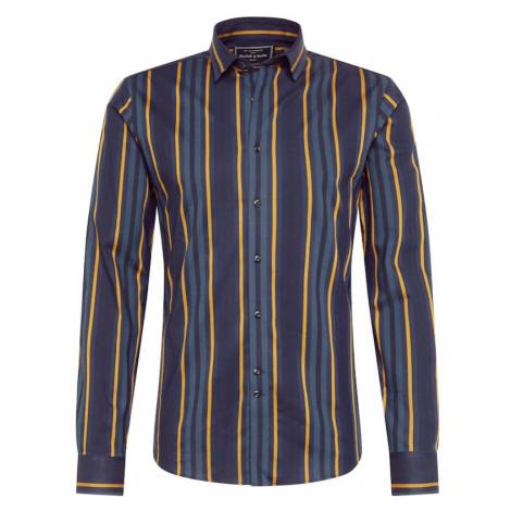 SCOTCH & SODA Koszula ciemnożółty / ciemnozielony