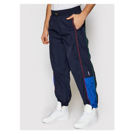 Levi's® Spodnie dresowe PEANUTS® Simone Podwyższony Granatowy Relaxed Fit Levi´s