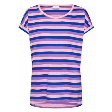 VILA Koszulka 'Dreamers' niebieski / jasnofioletowy / różowy pudrowy