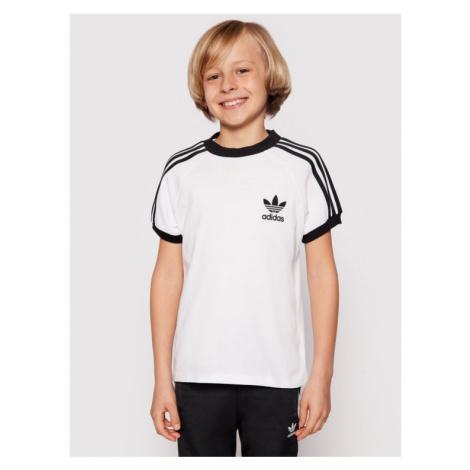 Adidas T-Shirt 3Stripes Tee DV2901 Biały Regular Fit