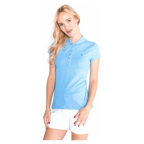 Tommy Hilfiger New Chiara Polo Koszulka Niebieski