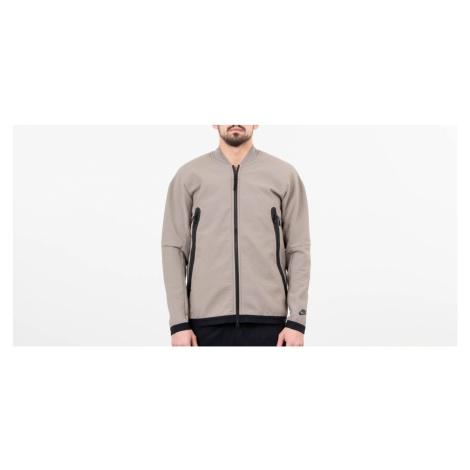 Nike Sportswear Tech Pack Woven Track Jacket Light Taupe/ Newsprint/ Black
