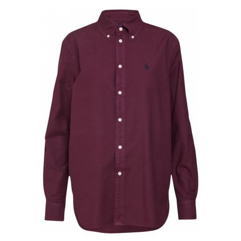 POLO RALPH LAUREN Bluzka bordowy