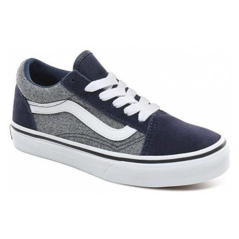 dziecięce buty Vans Old Skool - Suede/Suiting/Dress Blues