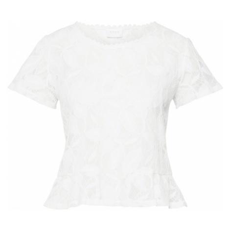 VILA Koszulka 'ESSOLE' biały