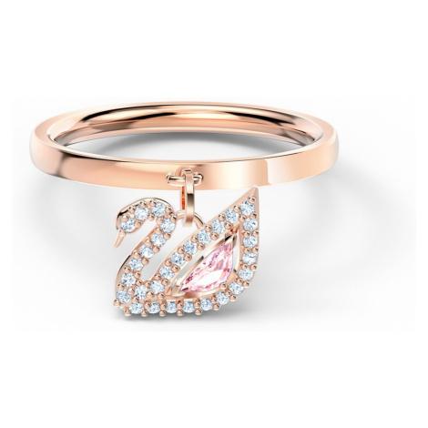 Różowe damskie pierścionki