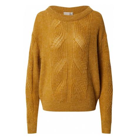 ICHI Sweter brązowy