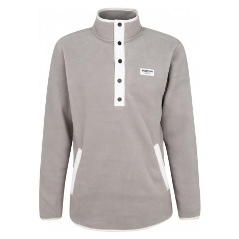 BURTON Bluzka sportowa szary / biały