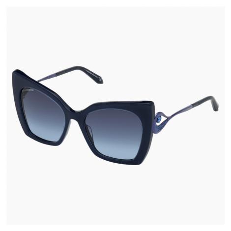 Okulary przeciwsłoneczne Tigris, SK0271-P 90W, niebieskie Swarovski