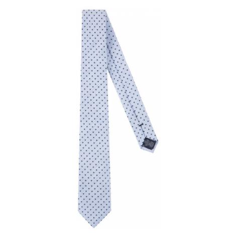 Tommy Hilfiger Tailored Krawat Blend Dot TT0TT06908 Niebieski