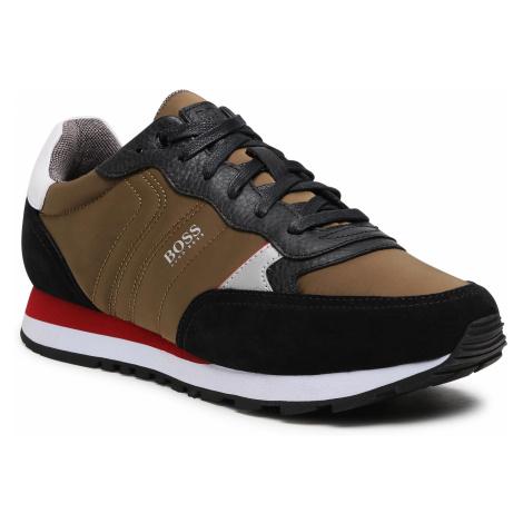 Sneakersy BOSS - Parkour 50445688 10232529 01 Open Green 340 Hugo Boss