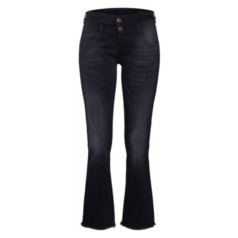Herrlicher Jeansy 'Baby Cropped Denim Black Stretch' czarny
