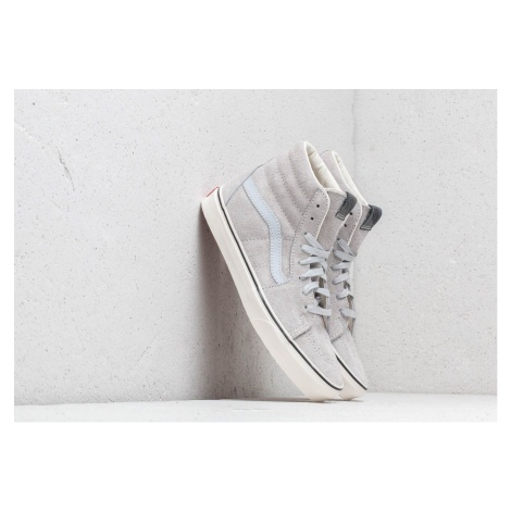 Vans Sk8- Hi (Hairy Seude) Gray Dawn/ Snow White
