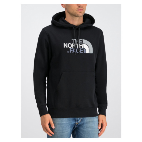 The North Face Bluza Drew Peak NF00AHJYKX7 Czarny Regular Fit