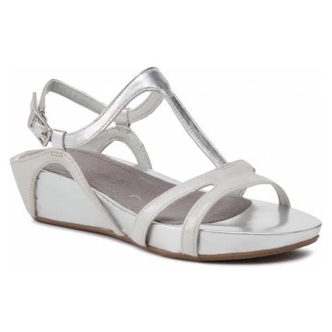 Sandały TAMARIS - 1-28242-22 Silver 941