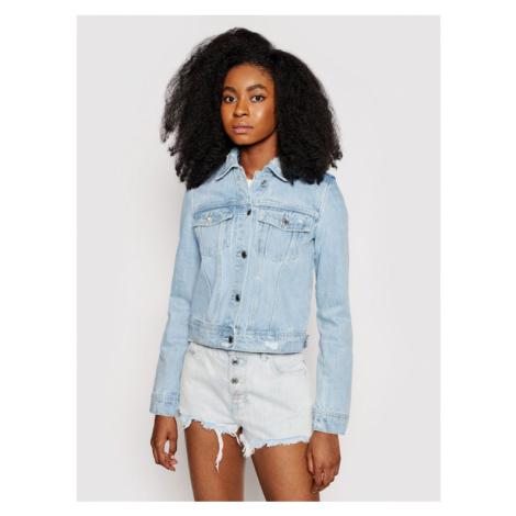 Guess Kurtka jeansowa W1GN26 D3P31 Niebieski Regular Fit