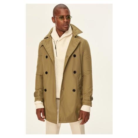 Trendyol Minus 1 Khaki men's trench coat