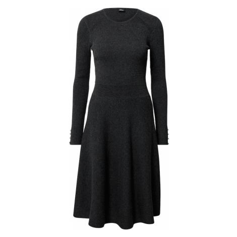 S.Oliver BLACK LABEL Sukienka ciemnoszary