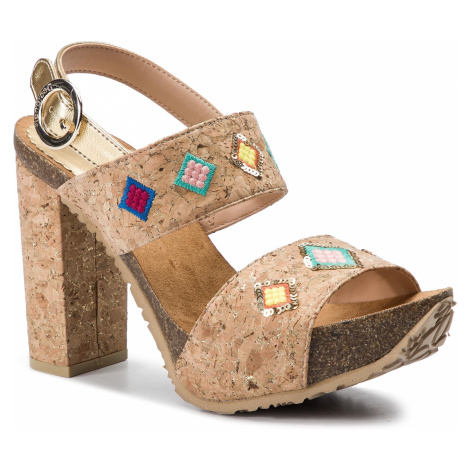Sandały DESIGUAL - Carioca Diamond 19SSHF07 1024