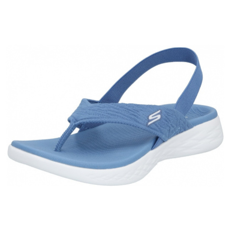 SKECHERS Japonki 'On-The-Go Beach Day' niebieski
