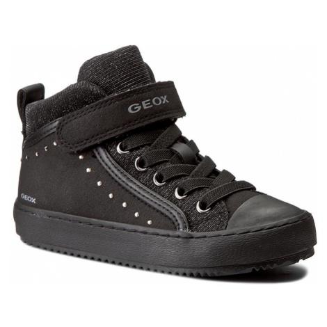 Sneakersy GEOX - J Kalispera G.I J744GI 0AFEW C9999 Black