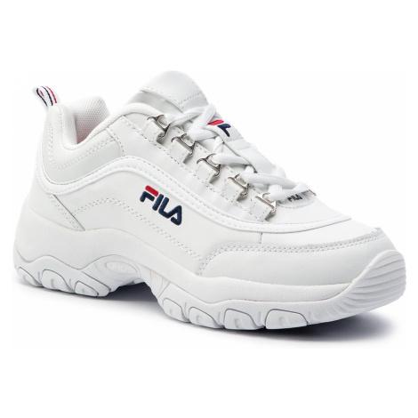Sneakersy FILA - Strada Low Wmn 1010560.1FG White