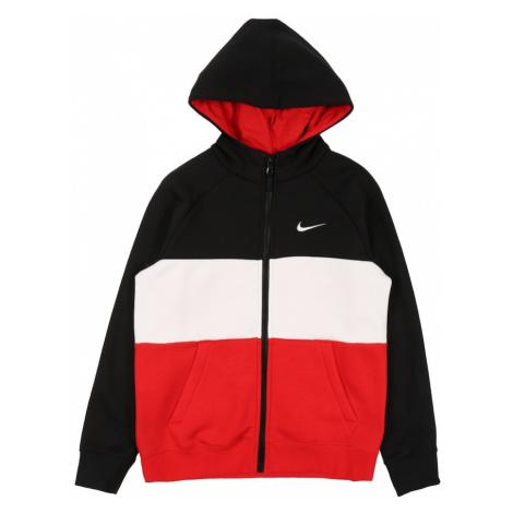 Nike Sportswear Kurtka przejściowa biały / czerwony / czarny