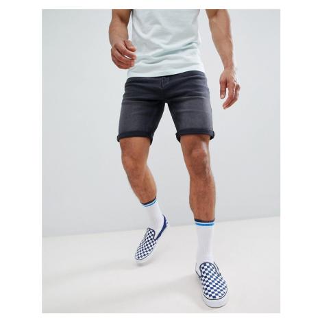 Pull&Bear Slim Fit Shorts In Grey Pull & Bear