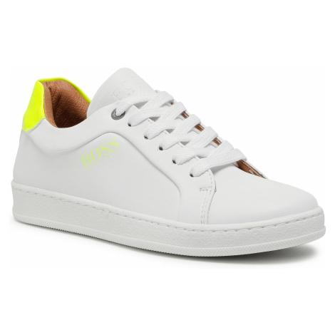 Sneakersy BOSS - J29222 M White 10B Hugo Boss