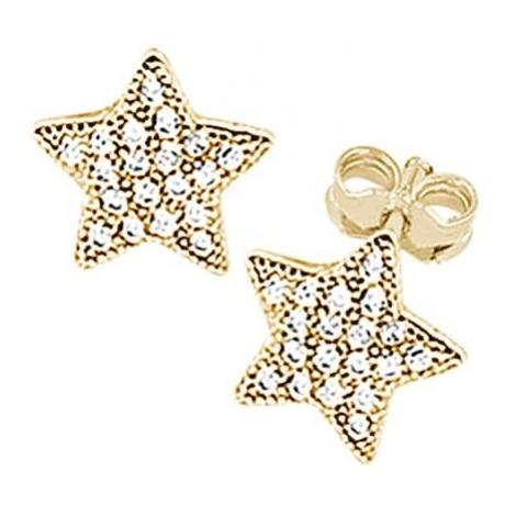 SO COSI Kolczyki 'WISHING ON A STAR' złoty