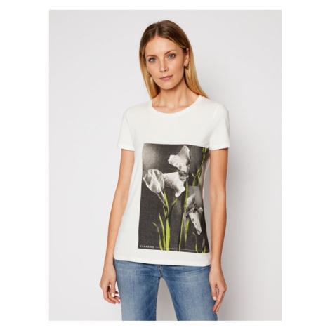 Weekend Max Mara T-Shirt Benny 59710417 Biały Regular Fit