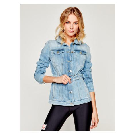 Pinko Kurtka jeansowa Julia PE 20 PDEN 1J10EE Y5T5 Niebieski Regular Fit