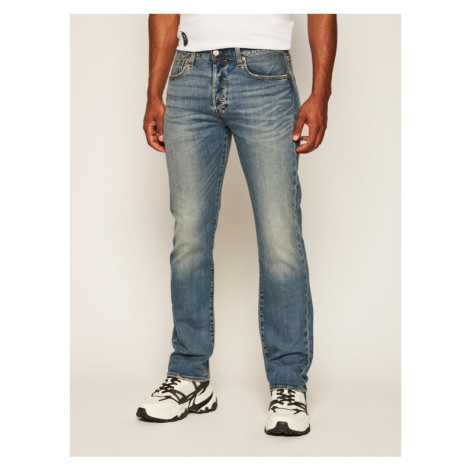 Levi's® Jeansy Regular Fit 501® Original Fit 00501-3058 Granatowy Regular Fit Levi´s