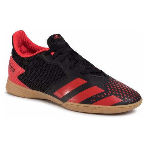Buty adidas - Predator 20.4 In Sala J EF1979 Cblack/Actred/Cblack