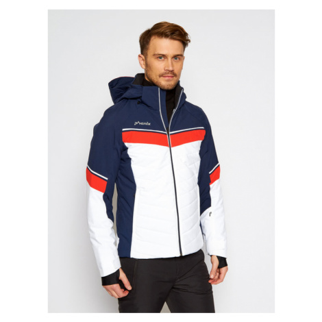 Phenix Kurtka narciarska Stratos ESA72OT33 Granatowy Regular Fit