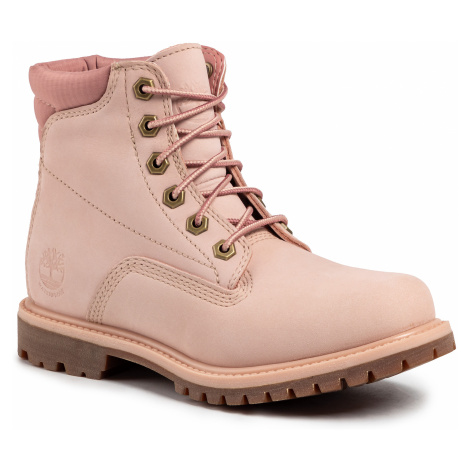 Trapery TIMBERLAND - Waterville 6 in Waterproof Boot TB0A1QT5662 Light Pink Nubuck