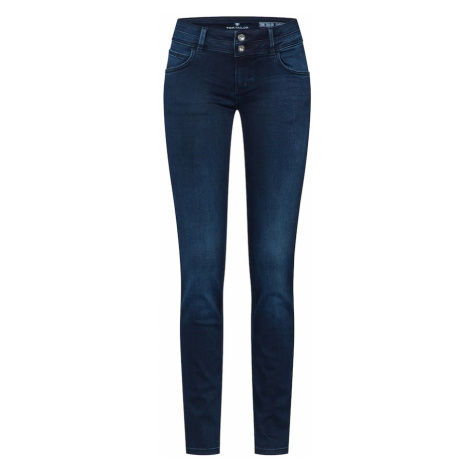 TOM TAILOR Jeansy 'Carrie' niebieski denim / czarny denim